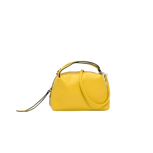 Gianni Chiarini Alifa Small Yellow Crossbody Bag