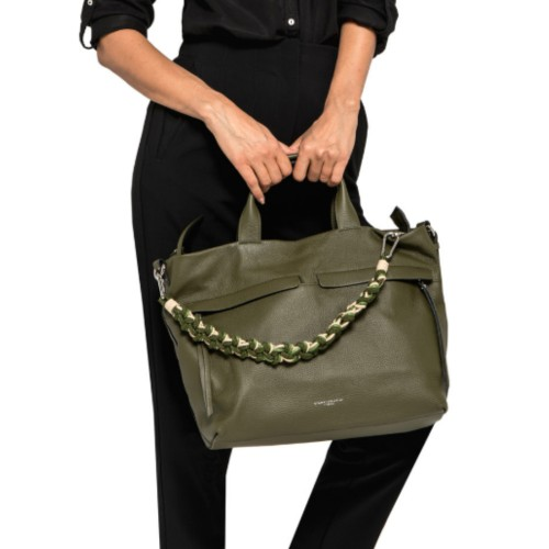 Gianni-Chiarini-Duna-Large-Green-Shoulder-Bag-2