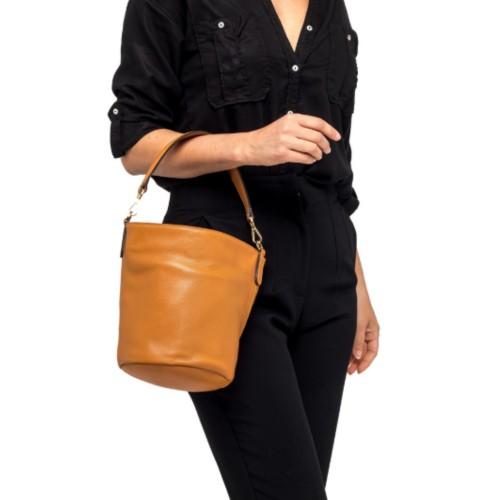 Gianni-Chiarini-Jacky-Medium-Orange-Bucket-Bag-2