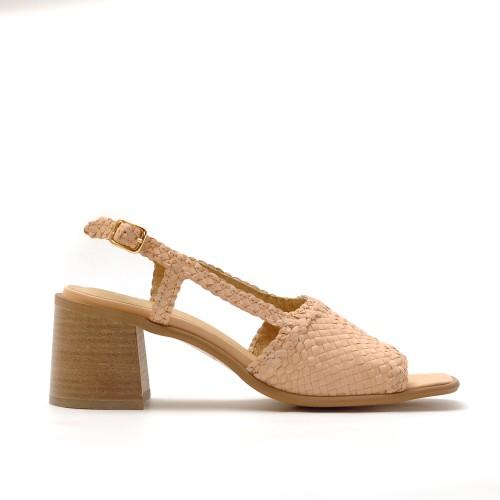 E8 Miista Pavati Woven Leather Sandals