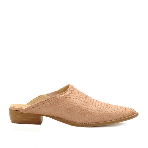 E8 by Miista Hama Woven Leather Mules