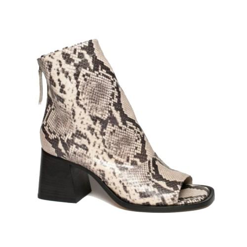 Vic Matie Peep Toe Roccia Ankle Boots