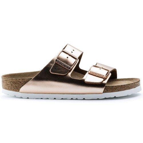 Birkenstock Arizona BS Metallic Copper Slippers