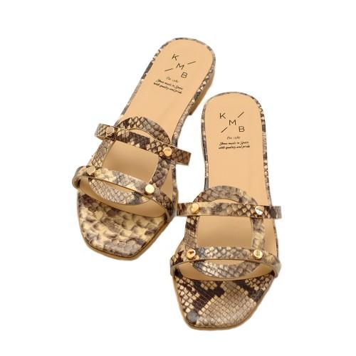 KMB-Brown-Roccia-Flat-Sandals-2