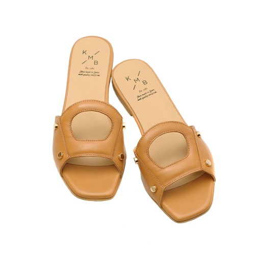 KMB-Cuoio-Leather-Flat-Sandals-2