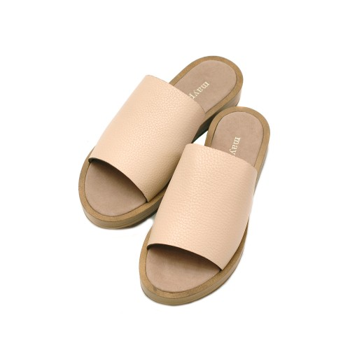 Maypol-Nude-Leather-Slippers-2