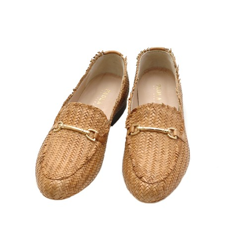 Paola-Ferri-Woven-Leather-Tan-Loafers-2