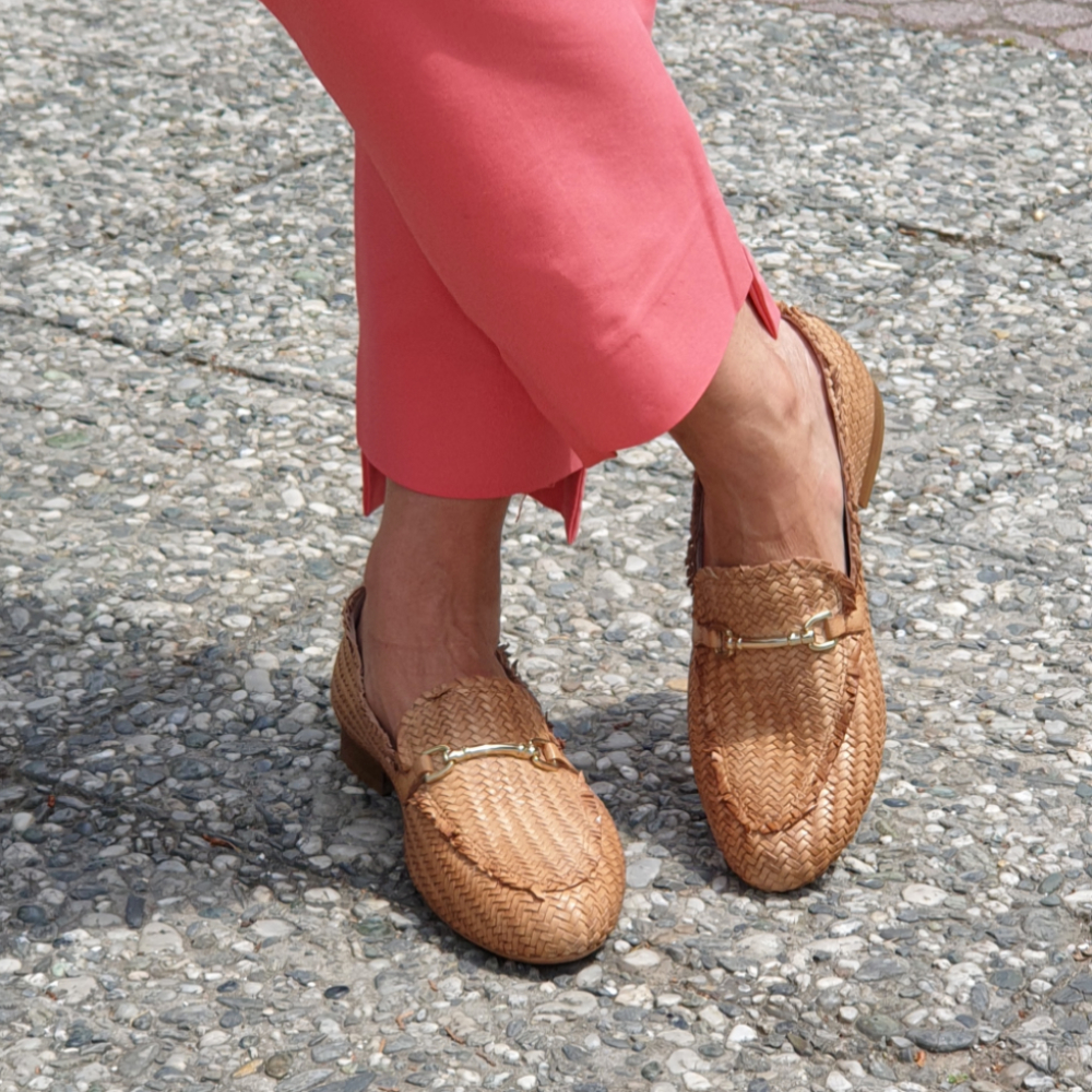 Paola-Ferri-Woven-Leather-Tan-Loafers-4
