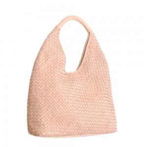 Paolo Masi Intrecciato Napa Leather Hobo Bag