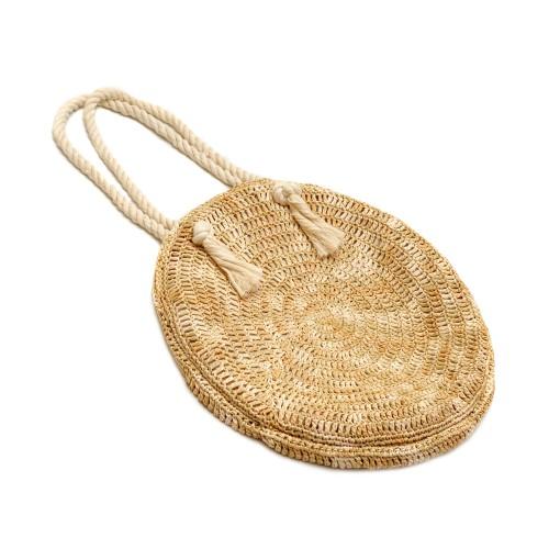 Philocaly Hand Woven Straw Handbag