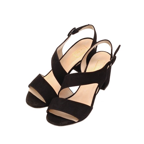 The-Bag-Black-Suede-Block-Heel-Sandals-2