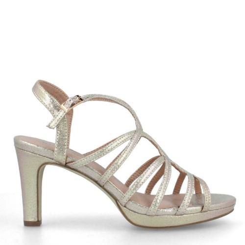 menbur umbri platino evening sandals