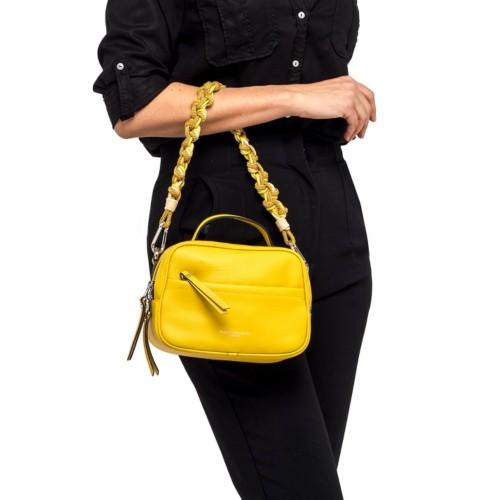 Gianni-Chiarini-Rally-Yellow-Crossbody-Leather-Bag-2