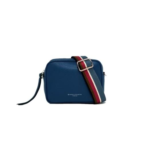 Gianni Chiarini Royal Blue Crossbody Bag