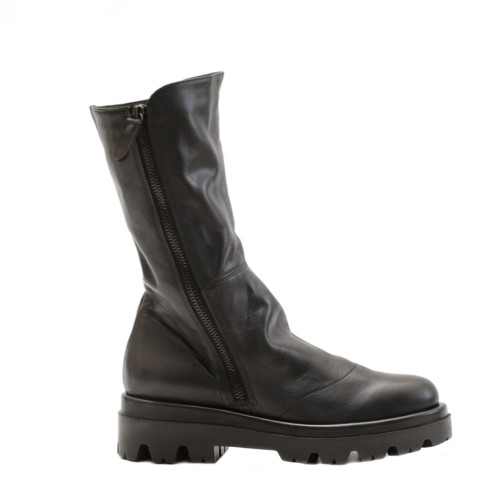 Lilimill Black Leather Boots