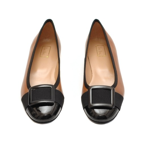 The-Bag-Tabac-Leather-Low-Pumps-2