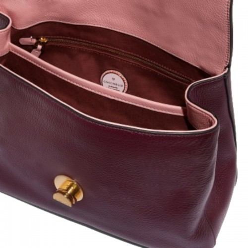 Coccinelle-Liya-Medium-Burgundy-Natural-Grain-Leather-Handbag-2