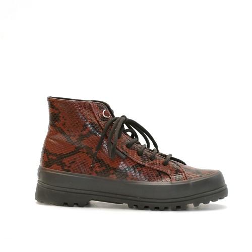 Superga 2341 Alpina Snake Print Boots