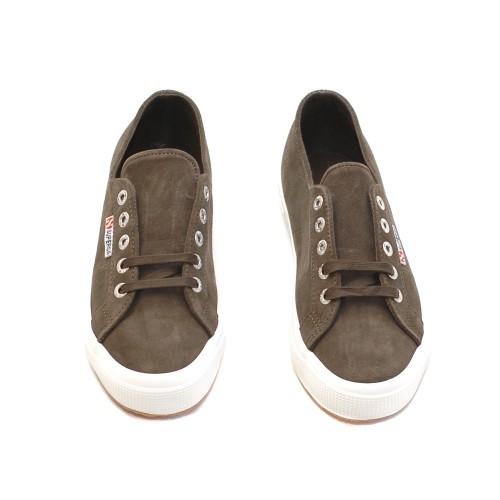 Superga-2750-Khaki-Suede-Sneakers-2