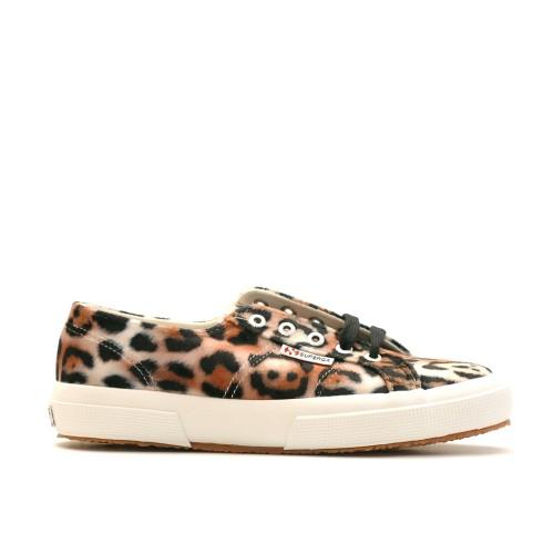 Superga 2750 Velvet Leopard Sneakers