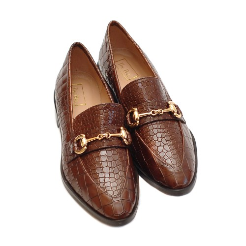 The-Bag-Crocco-Print-Tabac-Loafers-2