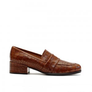 The Bag Tabac Heeled Loafers