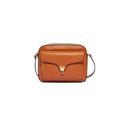 Coccinelle Beat Medium Tan Crossbody