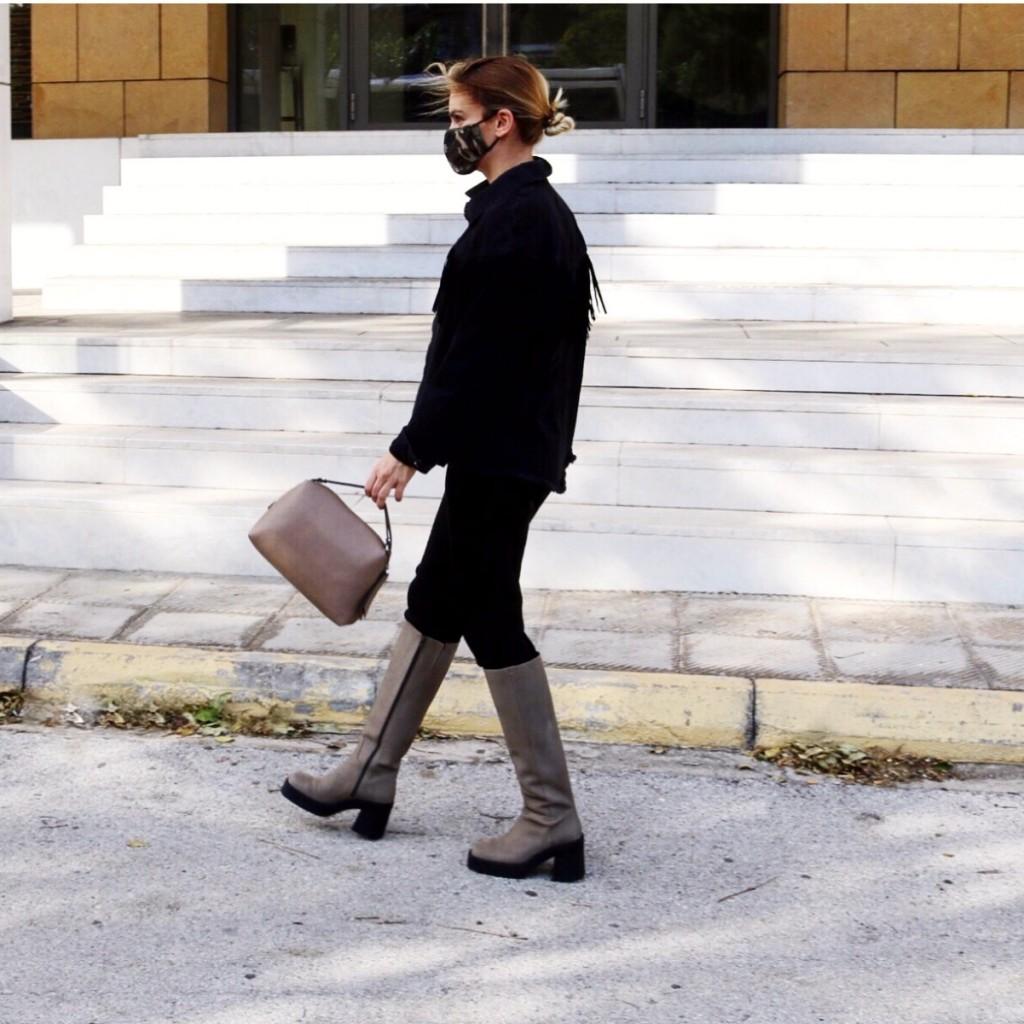 E8 By Miista Ambrosia Grey Boots