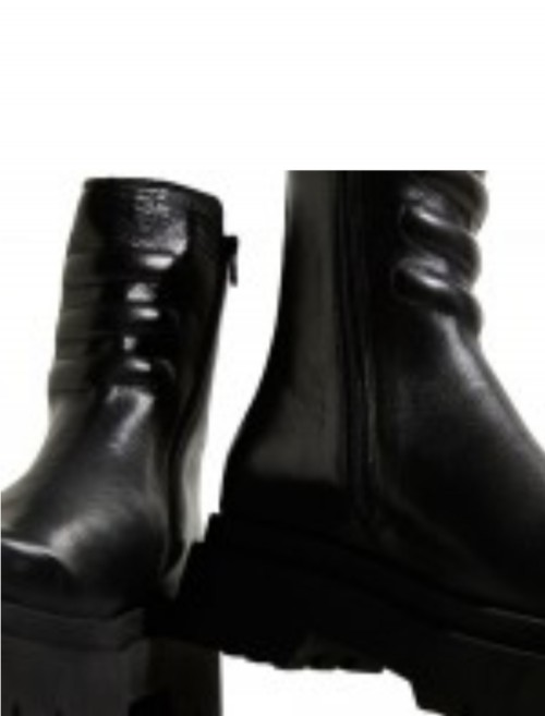 E8 By Miista Anouk Black Ankle Boots 2 (2)