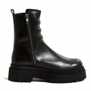E8 By Miista Anouk Black Ankle Boots