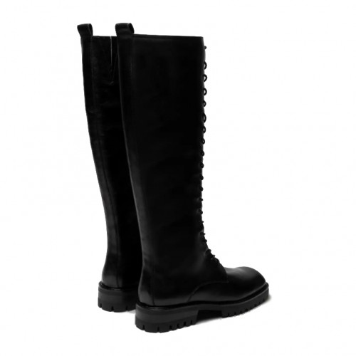 E8 By Miista Reese Lace Up Black Boots 2