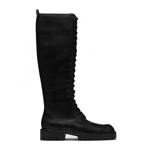 E8 By Miista Reese Lace Up Black Boots
