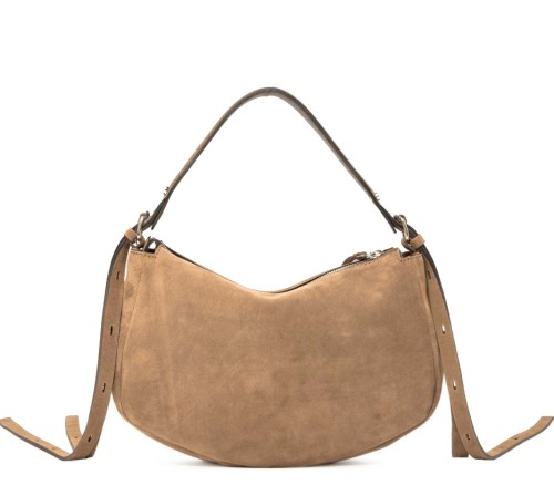 Gianni Chiarini Darleen Medium Suede Hobo Bag