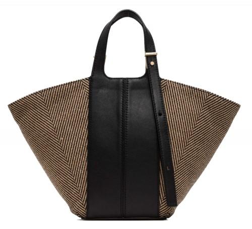 Gianni Chiarini Diletta Herringbone Handbag