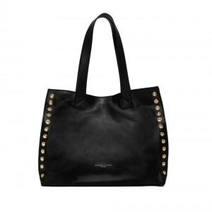 Gianni Chiarini Dorotea Large Black Tote Bag