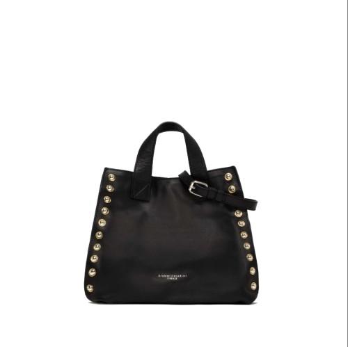 Gianni Chiarini Dorotea Medium Black Tote Bag