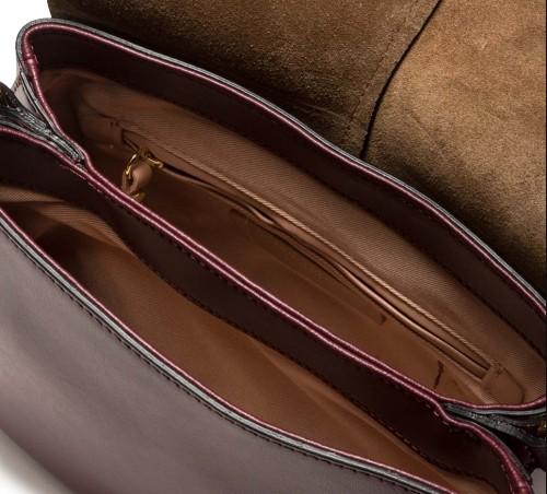 Gianni-Chiarini-Helena-Chain-Handle-Burgundy-Leather-Bag-4
