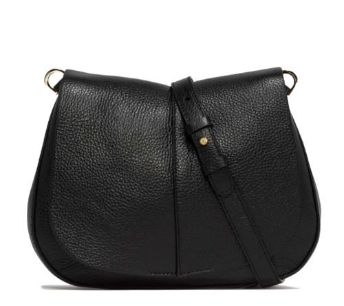 Gianni-Chiarini-Helena-Medium-Black-Shoulder-Bag
