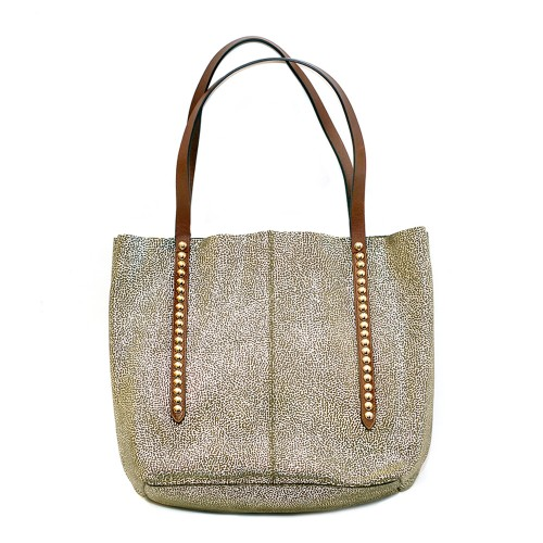 Nanni-Metalic-Leather-Shopper-Bag