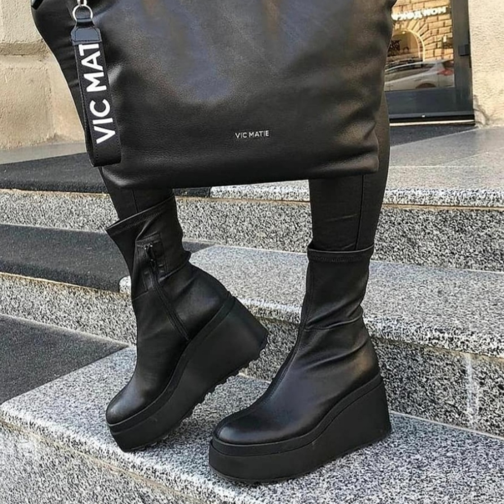 Vic Matie Ankle Boots Wedges 10
