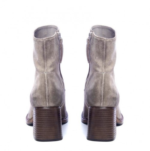 Vic Matie Grey Ankle Boots