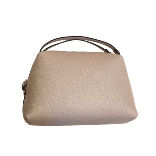 Gianni Chiarini Alifa Medium Beige Crossbody Leather Bag