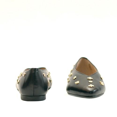 KMB-Black-Leather-Studs-Ballet-Flats-2