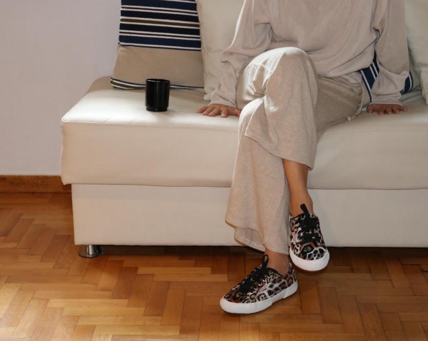 superga 2750 velvet leopard sneaker