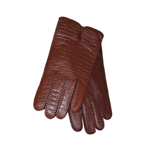 Brown Leather Gloves 1