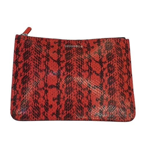 Coccinelle Red Leather Purse