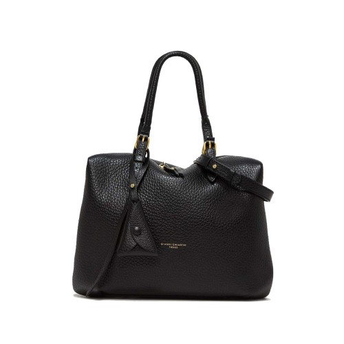 Gianni Chiarini Bella Medium Black Tote Bag