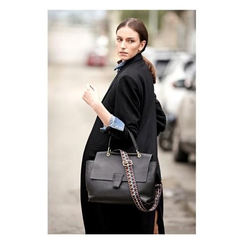 Gianni-Chiarini-Elettra-Black-Leather-Bag- (1)
