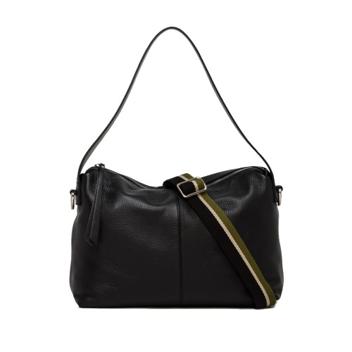 Gianni Chiarini Giorgia Medium Black Bag