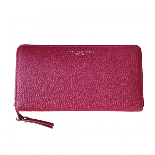 Gianni Chiarini Large Red Leather Wallet